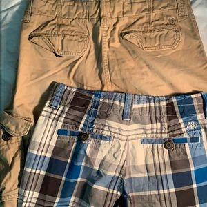 Lot of 2 Aeropostale 30 Men's Shorts